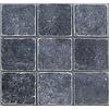 Marmer Karia Black natuursteen 10 x 10 cm P/M²