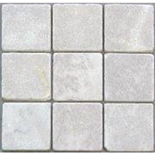 Marmer Wit natuursteen 10 x 10 cm P/M²