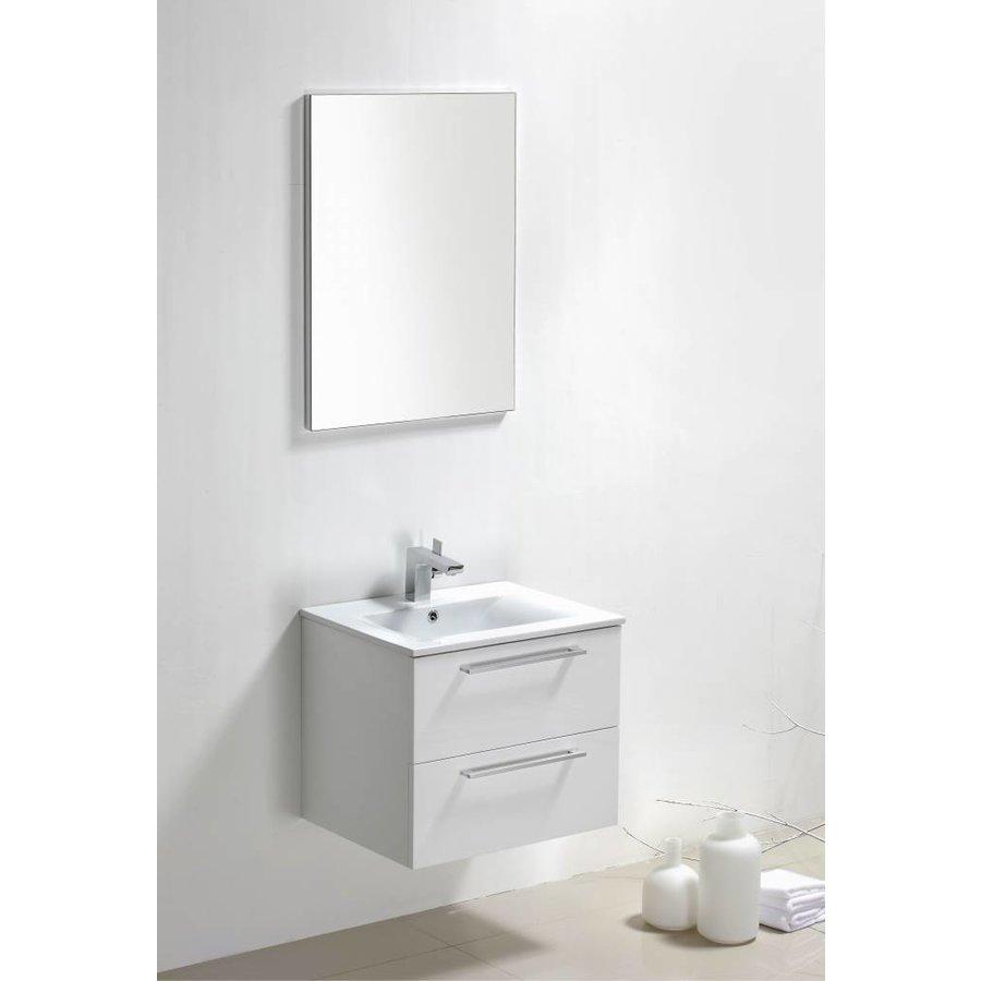 Badmeubel Roma 60 cm hoogglans wit
