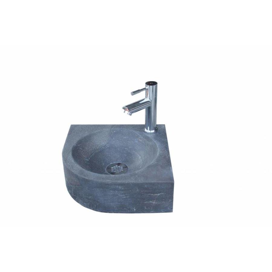 Hardsteen fontein Rondo 30x30x10 cm