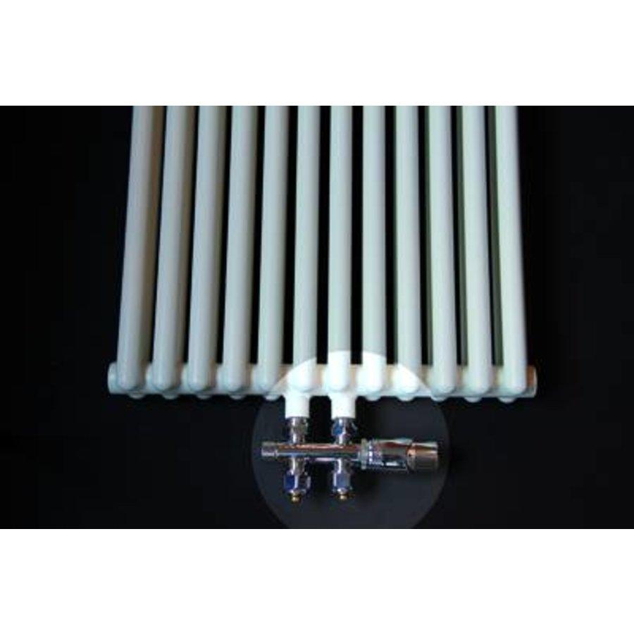 Universele Design radiator aansluitset midden onder recht