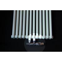 Universele Design radiator aansluitset midden onder haaks
