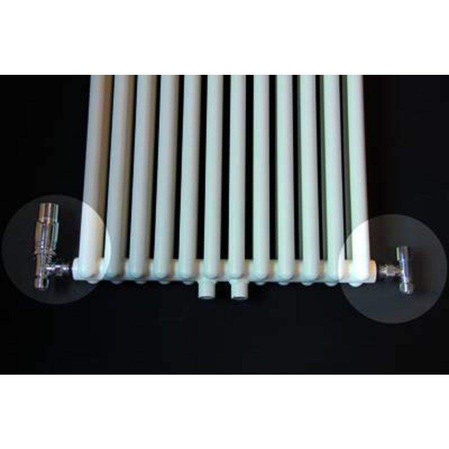 Universele Design radiator aansluitset haaks
