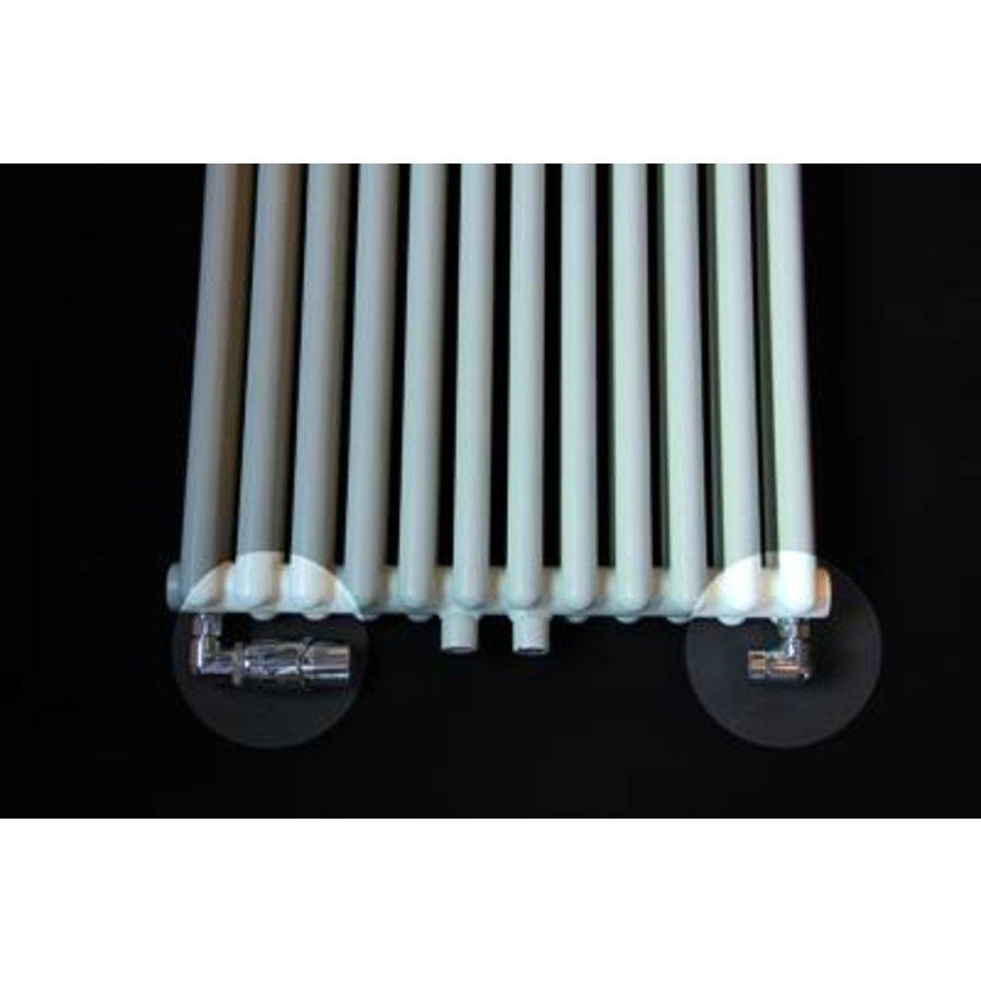 Universele Design radiator aansluitset axiaal (haaks verkeerd)