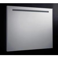 Spiegel 100cm Aluminium met TL Verlichting en schakelaar