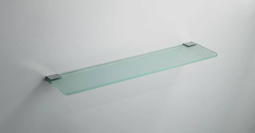 Glazen Plankjes Voor Aan De Muur.Aqua Splash Eros Glazen Planchet Chroom Bad Accessoires Megadump