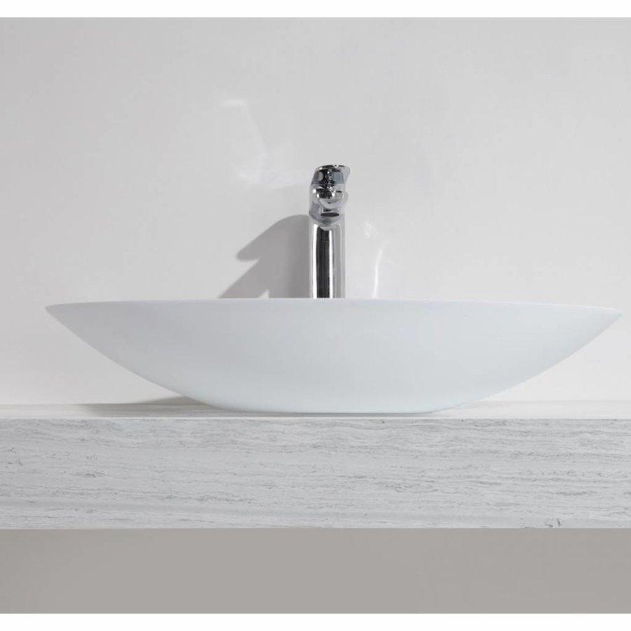 Opzetfontein Solid Surface Rond 59X35X11 Cm