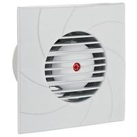 Badkamer ventilator / toilet ventilator Ø 100 mm wit
