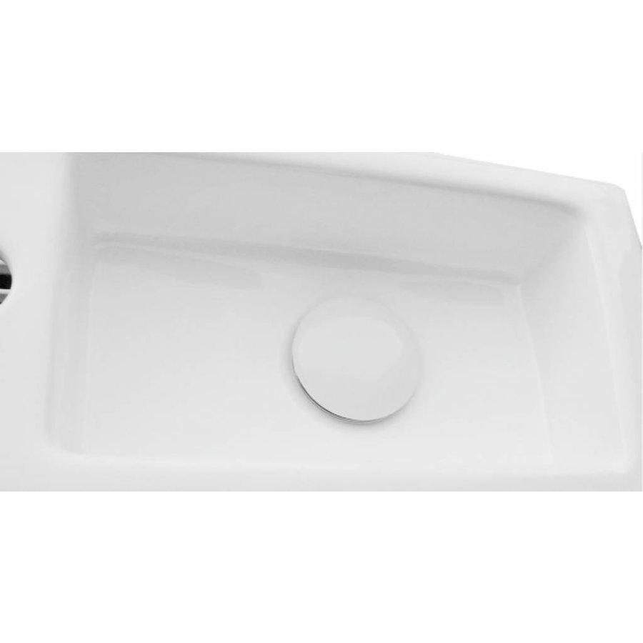 Luxe Clickwaste 5/4 Laag Model Keramisch Wit