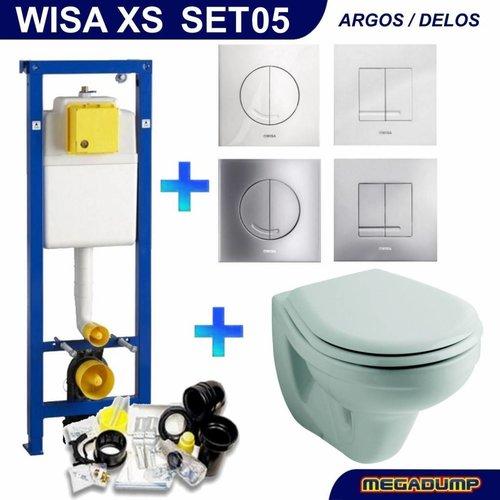 XS Toiletset 05 Sphinx Econ 2 met Argos/Delos drukplaat