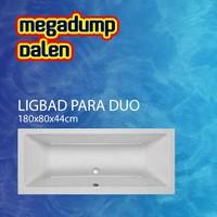 Ligbad Para Duo 180x80x44 cm