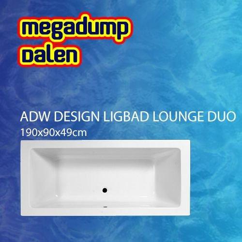 Ligbad Lounge Duo 190x90x49 cm