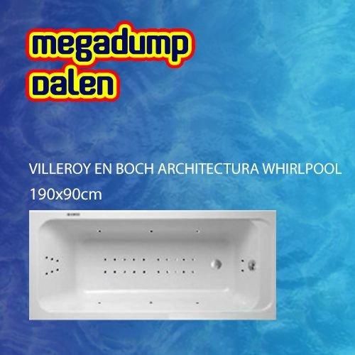 Architectura whirlpool 190x90x50 cm sportpakket deluxe