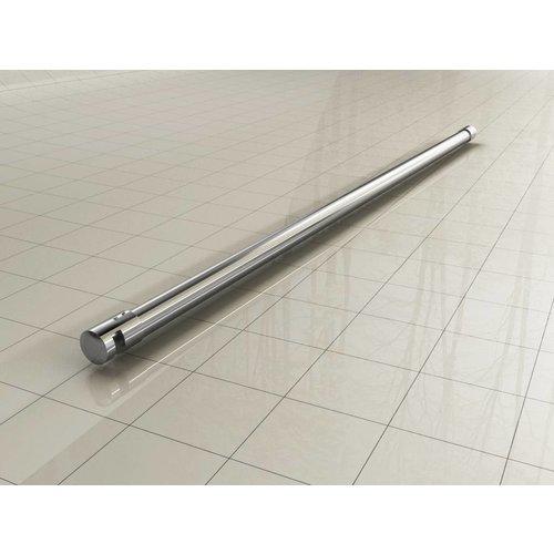 Chroom 3-delige stabilisatiestang  120cm