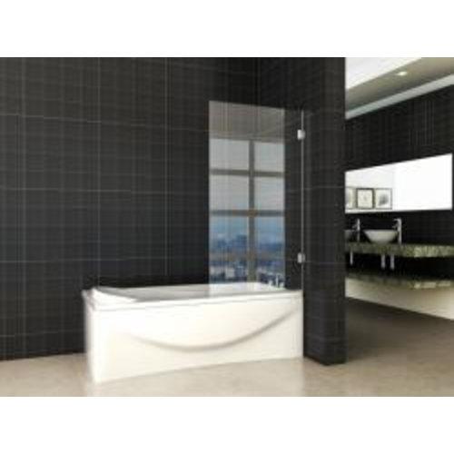 Wiesbaden profielloze draaibare badwand 800x1500 6mm NANO