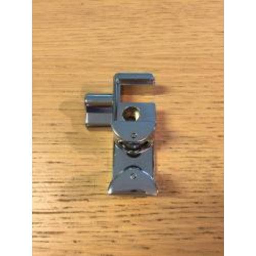 Chroom metalen deurgeleider deur rechts