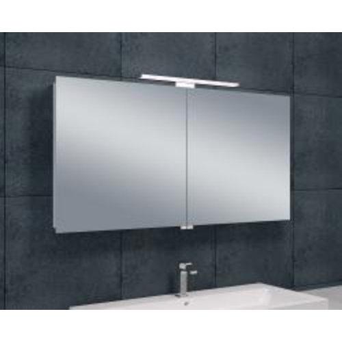 Wiesbaden Luxe spiegelkast +Led verlichting 120x60x14cm