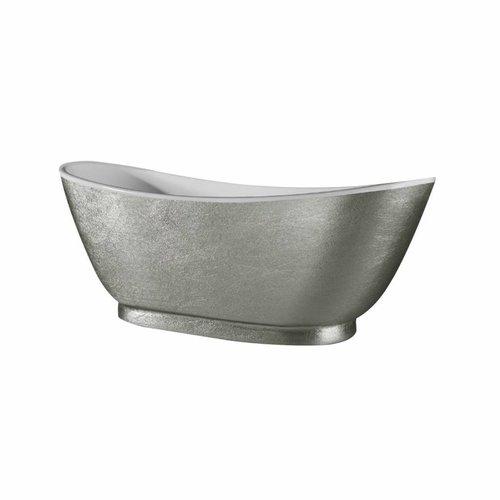 Vrijstaandbad Best Design Silvercreek 175x75x68 cm Zilver