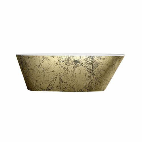 Vrijstaandbad Best Design Gold Feeling 175x75x68 cm Goud