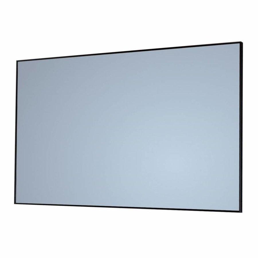 Badkamerspiegel Sanicare Q-Mirrors 80x70x2cm Zwart