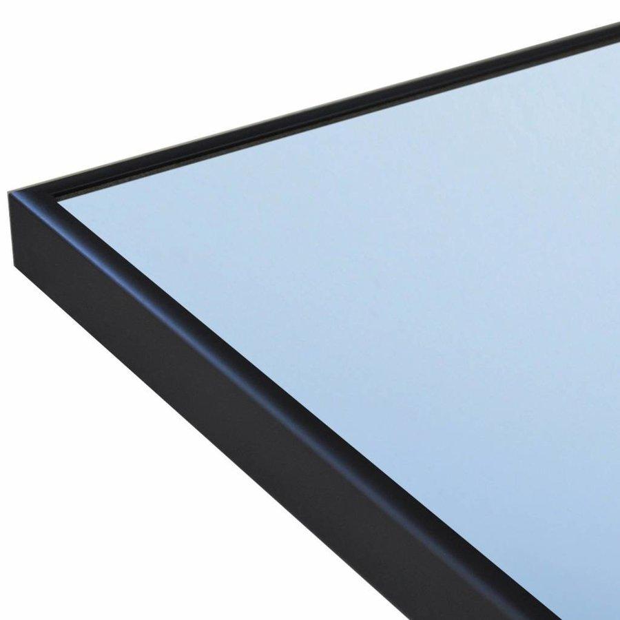 Badkamerspiegel Sanicare Q-Mirrors 90x70x2cm Zwart