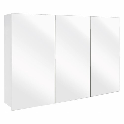 Spiegelkast Differnz The Collection Concept 100x62x15 cm Wit