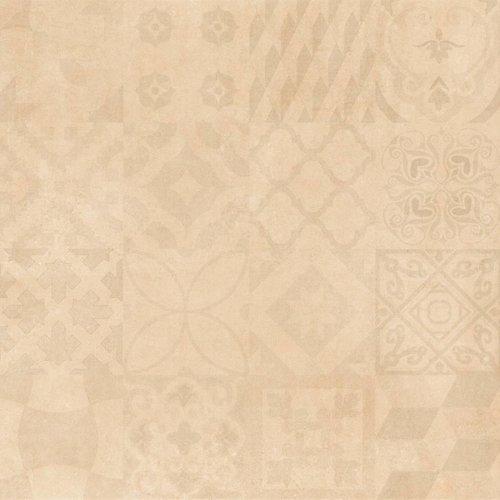 Vloertegel Cristacer Mont Blanc Crema Decorado 60x60cm (prijs p/m2)