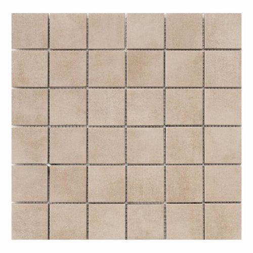Mozaïektegel Cristacer Pascal Moka 33.3x33.3cm (Per mat)