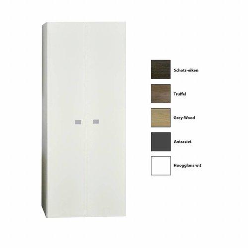 Kolomkast Sanicare Q5 2 Soft-Close Deuren 160 cm Antraciet