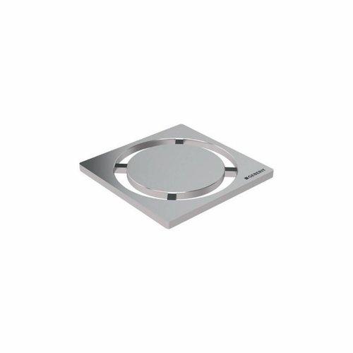 Putrooster Geberit Design voor Vloerput Douche Rond 8x8cm RVS