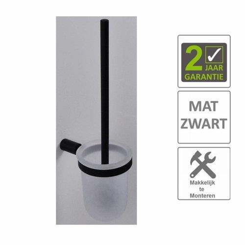 AQS Toiletborstelhouder Mia Mat Zwart
