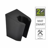 AQS Handdouchehouder Losse Kunststof Mat Zwart