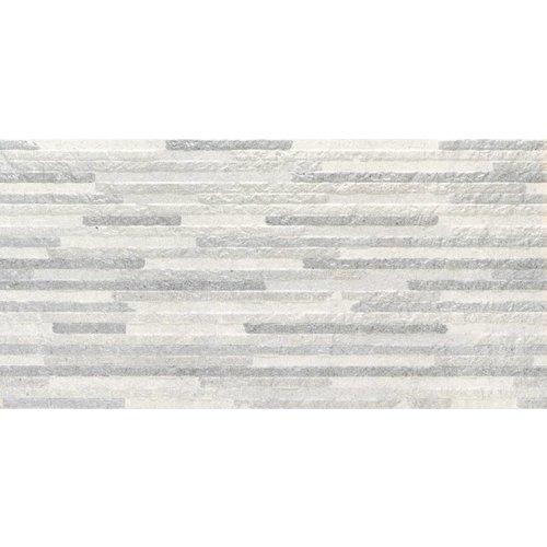 Wandtegel Syrma Silver Decor 30x60 rett (Doosinhoud 1,26 M²)