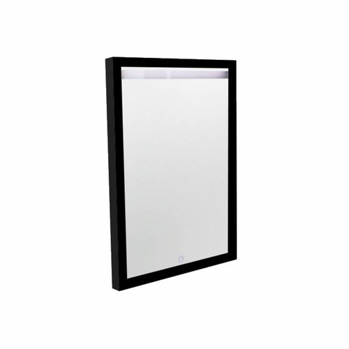 Spiegel Best Design Black Miracle 60x80cm LED Verlichting Mat Zwart