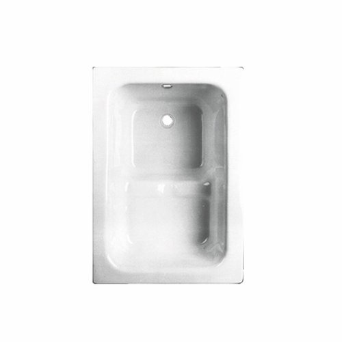 VM GO Pisa Zitbad 100x70cm Acryl 21-42cm Diep Inclusief Potenstel