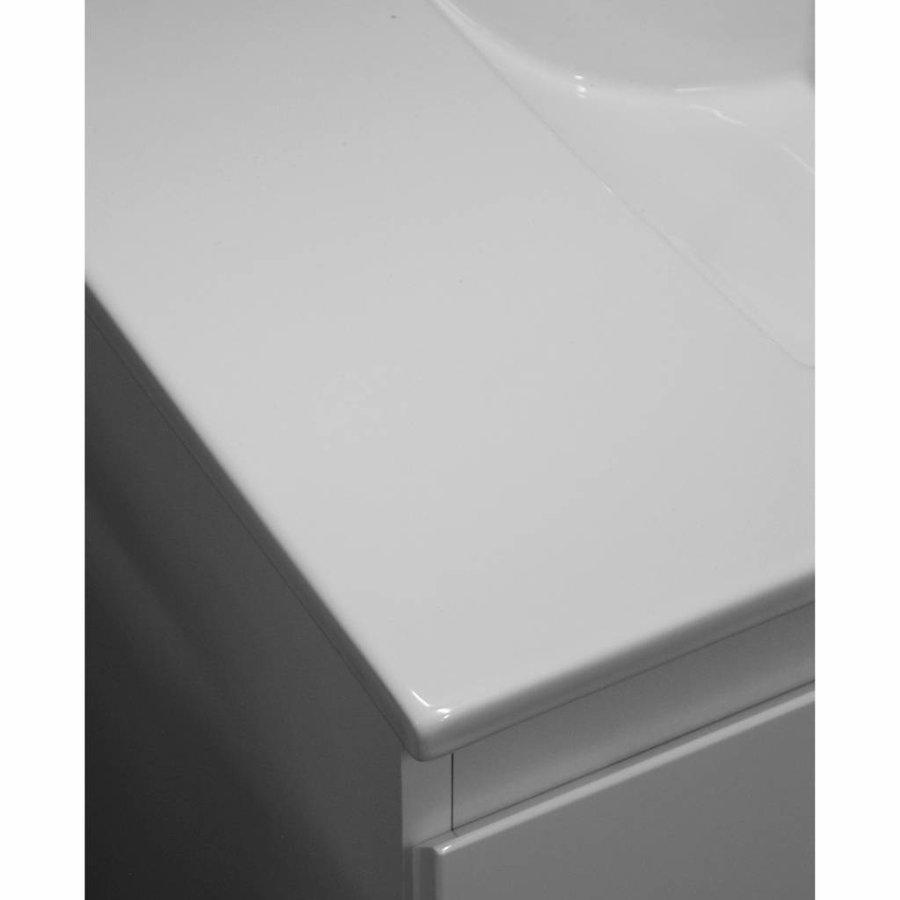Badkamermeubelset Go By Van Marcke Joelle 80cm Compleet Met Spiegel Wit