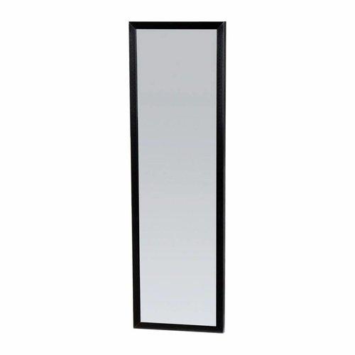 Spiegel Topa Silhouette 25x80x2.5 cm Aluminium Zwart