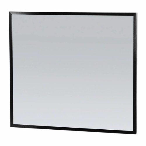 Spiegel Topa Silhouette 80x70x2.5 cm Aluminium Zwart
