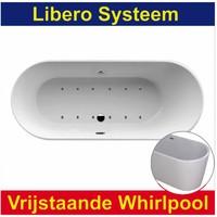 Whirlpool Libero 178x80 cm Luchtsysteem (heater en afvoer optioneel)
