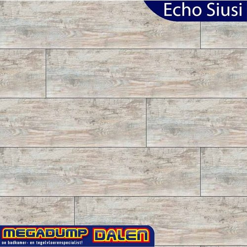 Houtlook vloertegel Echo Siusi 24,6x100 cm P/M²