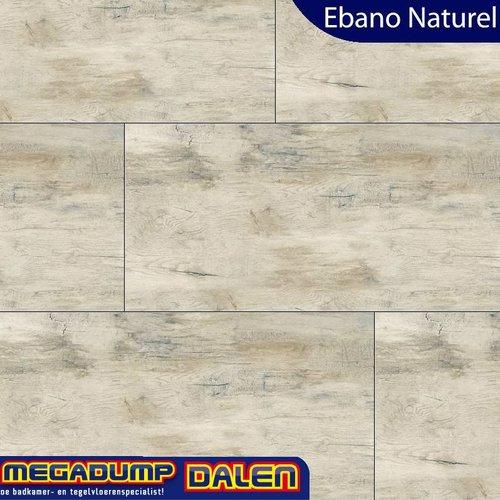 Houtlook vloertegel Ebano Naturel 30x120 cm P/M²