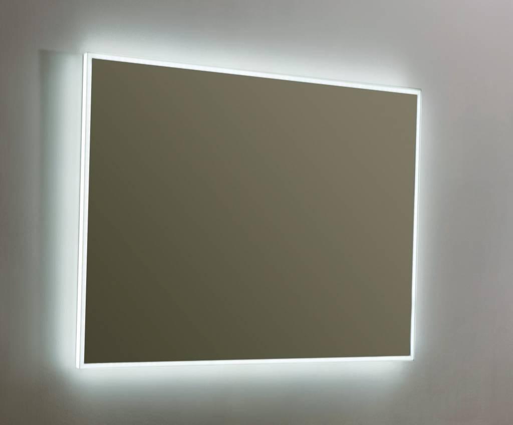 Spiegel Verlichting Badkamer : Spiegel infinity cm met led verlichting megadump dalen