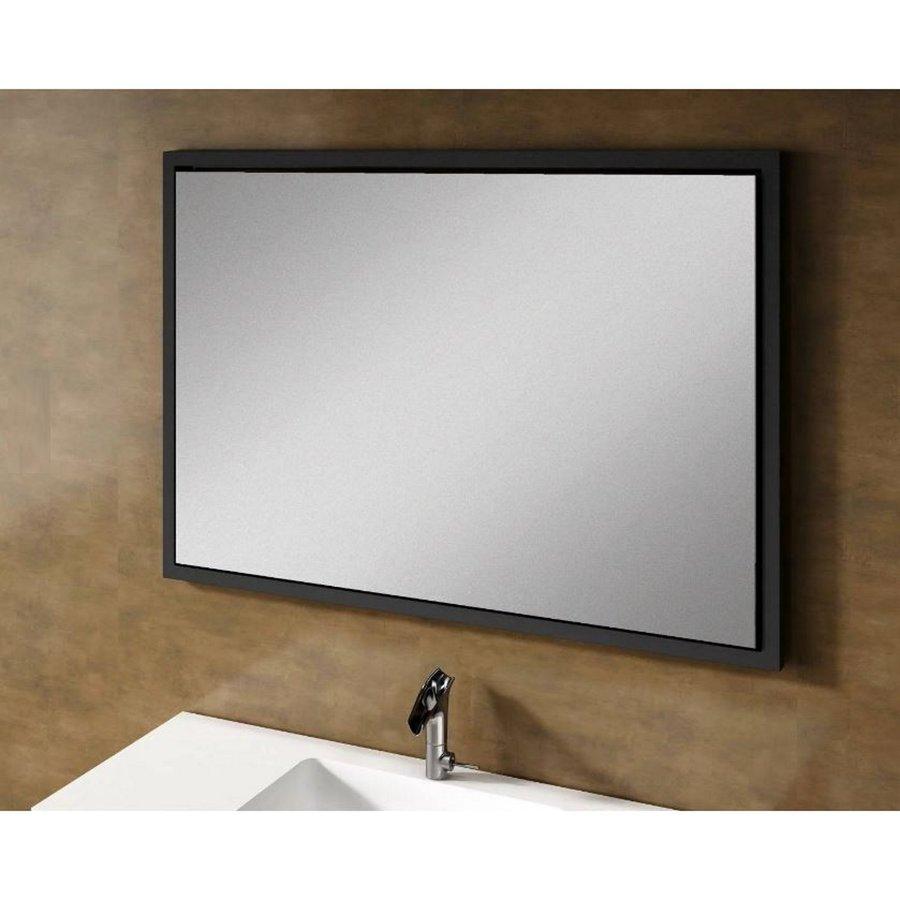 Badkamermeubel Doccia Mara Lupe 100x45x96 cm Zwart (spiegel optioneel voor meerprijs)