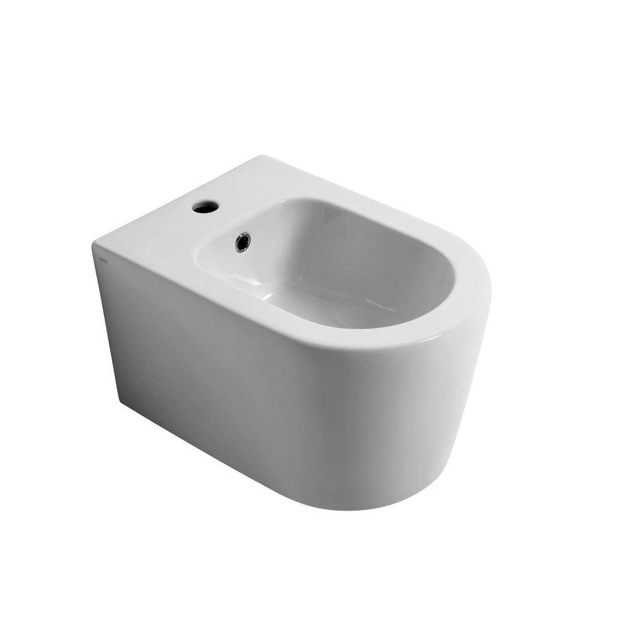 Bidet Salenzi Form Square Mat Wit