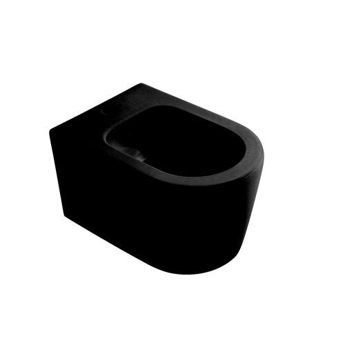 Bidet Salenzi Form Square Mat Zwart