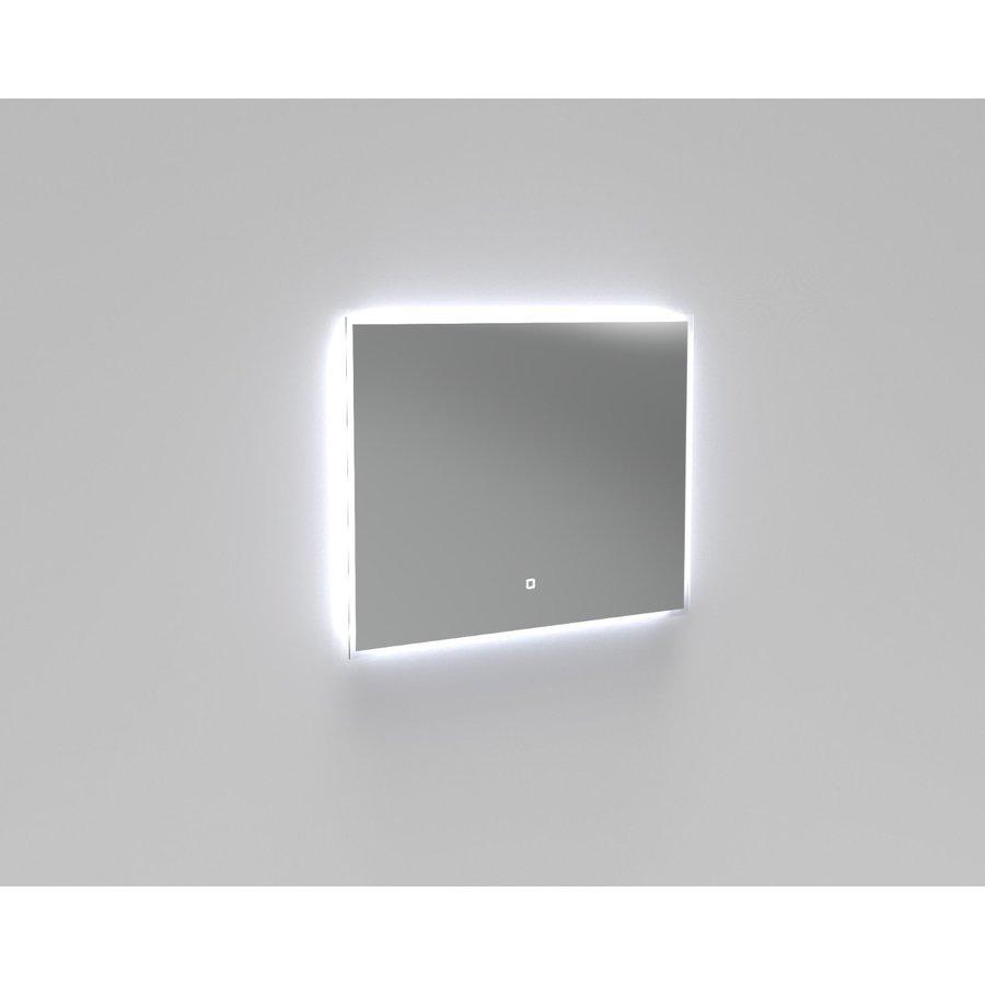 Badkamerspiegel LED Verlichting Boss & Wessing Reflect 90x70 cm