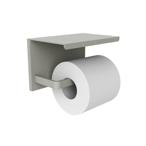 Toiletrolhouder Allibert Loft Game Hangend Mat Grijs