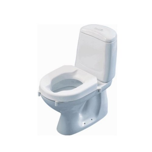 Toiletverhoger Etac Hi-Loo Afneembaar met Deksel 6 cm Wit (draagvermogen tot 150 kg)