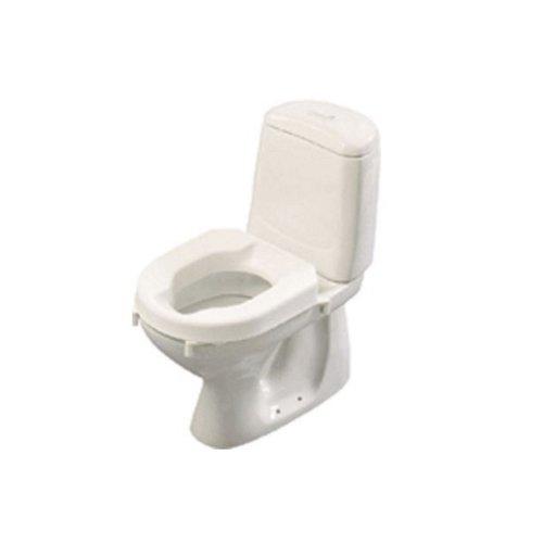 Toiletverhoger Etac Hi-Loo Afneembaar met Deksel 10 cm Wit (draagvermogen tot 150 kg)