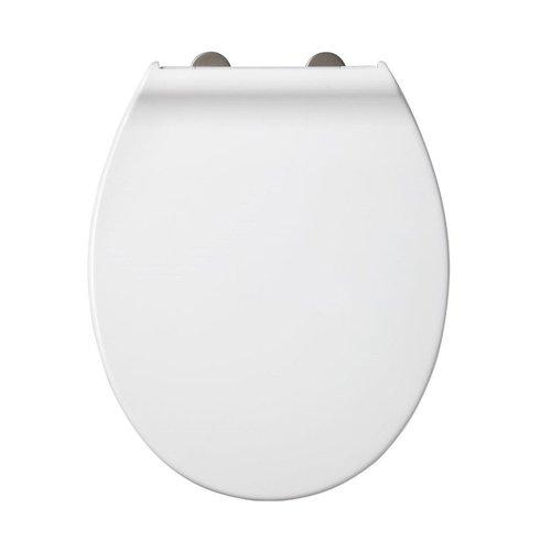 Toiletzitting Allibert System Soft-Close Afklikbaar Glanzend Wit